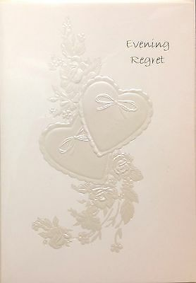 Invitation Evening Regret Card ~ Evening Regret ~ Luxury Card ~ Special