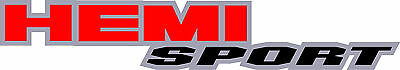 """HEMI SPORT"" Dodge Ram BED SIDE Truck  Decals Stickers Graphics 2 each"
