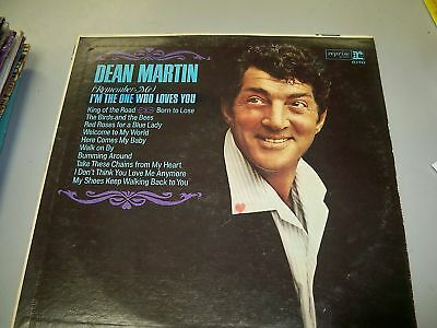 DEAN MARTIN I'M THE ONE WHO LOVES YOU ALBUM USED
