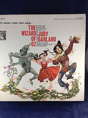 m2m8 THE WIZARD OF OZ: ORIGINAL SOUND TRACK LP/JUDY GARLAND/Ray Bolger/Bert Lahr