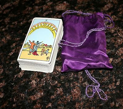 VINTAGE TAROT DECK CARDS Looks like Rider - The Magician ?? Complete 78 Cards