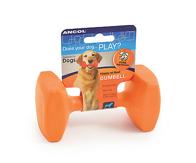 *SALE* Ancol Pdl Training Dumbell Dog Puppy Training Aid Floats EVERY SIZE