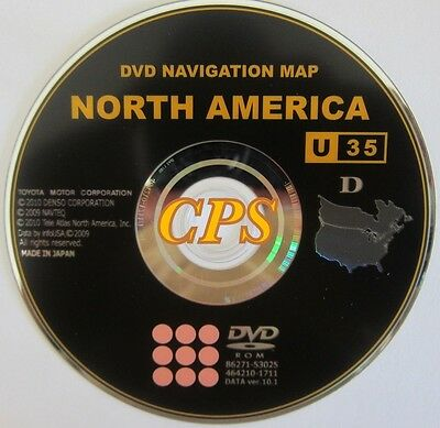 10.1 Update 2007 2008 2009 Toyota Sienna and Prius Navigation DVD Released 2011