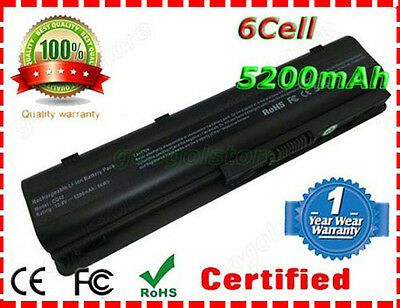 Notebook Laptop Battery for HP MU06 MU09 SPARE 593554-001 593553-001 6Cell