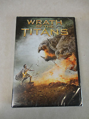 Wrath of the Titans (DVD, 2012) Brand New