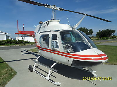 Bell 206 A/B Helicopter