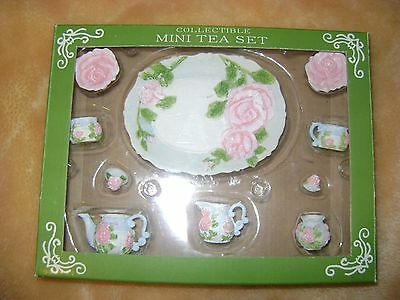 "FITS 18"" INCH AMERICAN GIRL CUPS DISHES TEA PITCHER SET RESIN LOT 10 PCS"