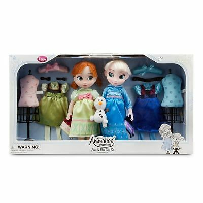 Disney Store Frozen Deluxe Animators Collection Elsa & Anna Gift Set Sold Out!!!