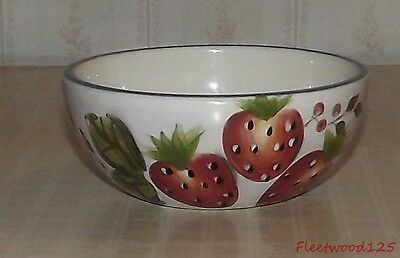 Heritage Mint Black Forest Fruits Dinnerware Cereal Soup Bowl - 5.25""