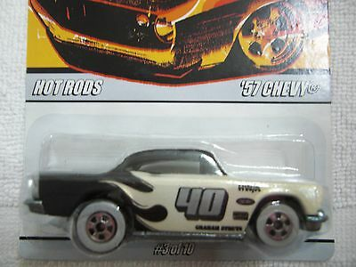 hot wheels since 68 series 57 chevy hot rods #3/10 ship max $13