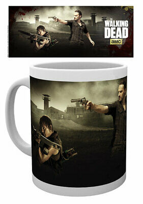 The Walking Dead - Ceramic Coffee Mug / Cup (Rick & Daryl - Shooting)