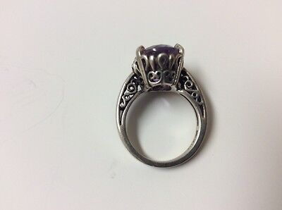 BEAUTIFUL VINTAGE ESTATE SALE LADIES KABANA STERLING SILVER RING SIZE 5 and 8