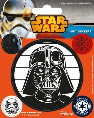 STAR WARS - 5 PIECE VINYL STICKER PACK / SET (DARTH VADER, STORMTROOPER...)