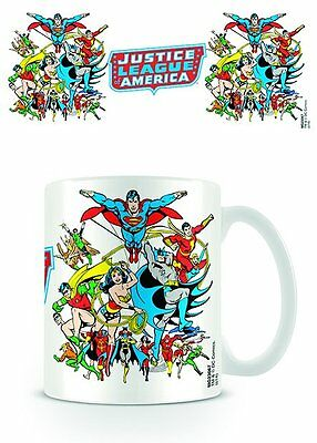 Justice League Of America - Ceramic Coffee Mug / Cup (Batman, Superman & Friends