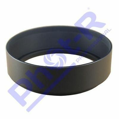 Phot-R 49mm Screw-On Mount Metal Lens Hood for Canon Nikon Sony Olympus Pentax