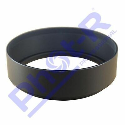 Phot-R 62mm Screw-On Mount Metal Lens Hood for Canon Nikon Sony Olympus Pentax