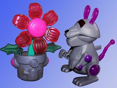 Robo Chi, Roboter Tiere, Maus Blumentopf,Tiger Electronics Mc Donalds Happy Meal