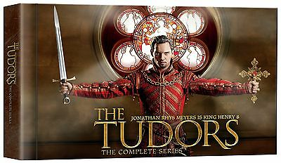 The Tudors: The Complete Series Brand New!