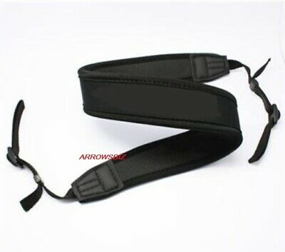 Universal Camera Single Shoulder Black Sling Belt Strap For SLR DSLR All Brands