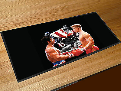 Rocky Vs Drago Rocky 4 Movie Balboa Beer Bar Runner mat