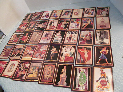Lot of 72 Coca Cola Coke Trading Cards Series 3 1994  Advertising