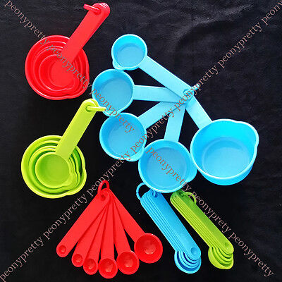 Durable measuring spoons spice cup sugar salt bakery cooking kitchen helper
