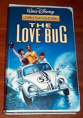 WALT DISNEY: THE LOVE BUG DEAN JONES,MICHELE LEE,BUDDY HACKETT VHS TAPE