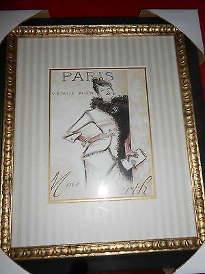 New by Art in Motion Framed Print by Chad Barrett PARIS SOCIALITE D2958F1