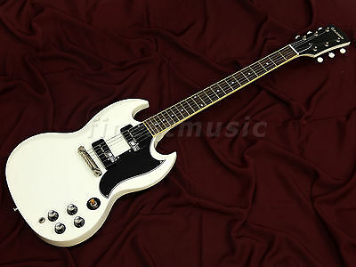 ESP Edwards E-SG-90LT2/P Snow White, Lacquer Finish, Duncan P-90s, Made in Japan