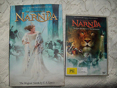 The Chronicles of Narnia by C. S. Lewis (Paperback, 2005) + Walt Disney DVD
