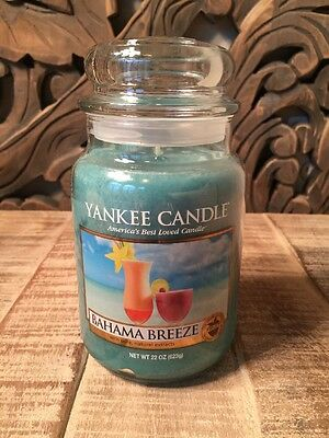 Yankee Candle Bahama Breeze Fruit  Collection Special 22 oz Large Jar