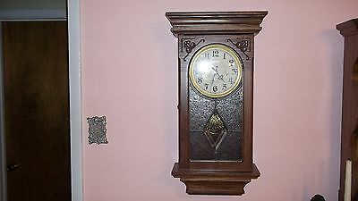 Ansonia Clock Co. later wall model with chines clock