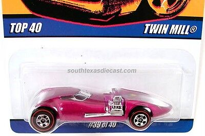 HOT WHEELS TWIN MILL IRA GILFORD TOP 40 SINCE 68 SERIES REDLINE LIMITED HUNT HW
