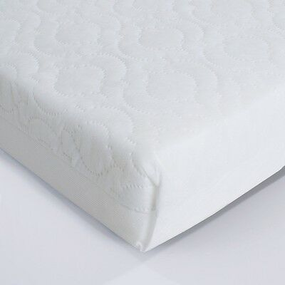 Deluxe Quality Quilted Matress for Moses,cot,crib,cradle,cotbed. Made in the UK