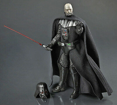 STAR WARS THE BLACK SERIES DARTH VADER WITH REMOVABLE HELMET 6 IN ACTION FIGURE