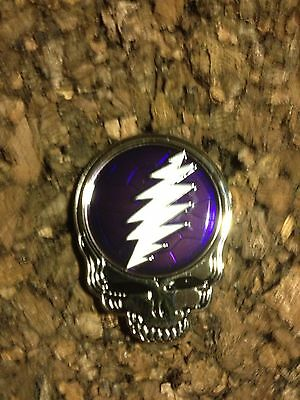 Grateful Dead Steal Your Shell Pin Amethyst