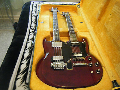 Ibanez 1978 double neck Bass over 6 string RARE!