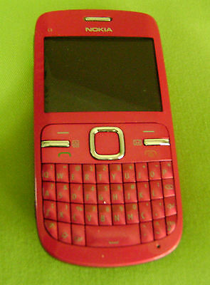 Nokia C Series C3-00 - Hot pink (Unlocked) Cellular Phone with QWERTY