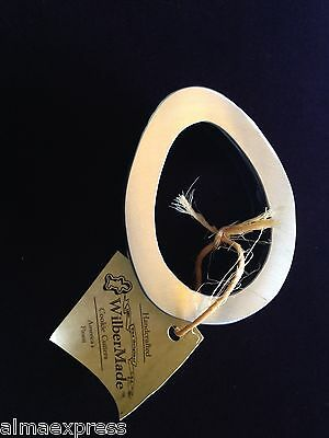Handmade USA Amish WilberMade SS & Alum Cookie Cutter - #26, EASTER EGG