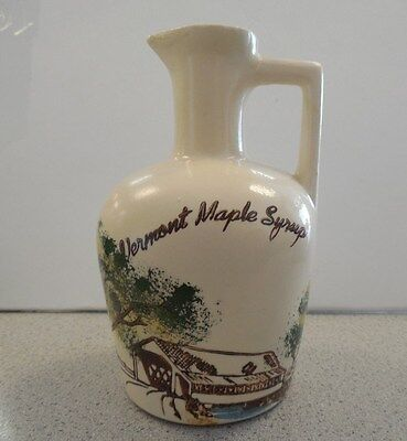 Vermont Maple Syrup Ceramic Decanter