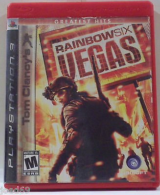 Tom Clancy's Rainbow six Vegas Playstation 3 complete  2007 Ps3