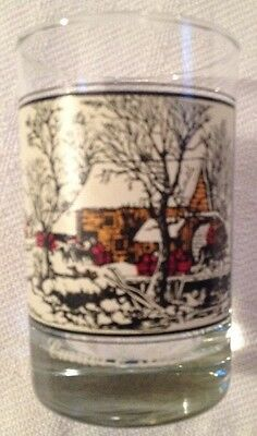 Vintage Currier and Ives Frozen Up arbys collection series 1981