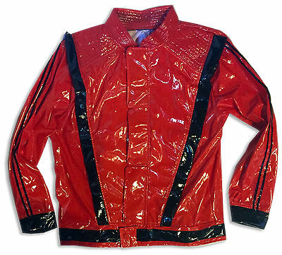 Michael Jackson Thriller Jacket Red and Black Men's Size Medium 40-42 Costume