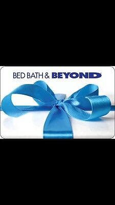 Bed Bath and Beyond gift card $200