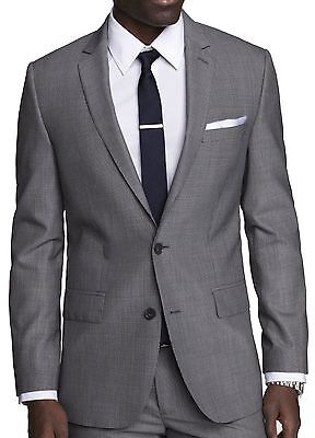 New EXPRESS Men's Houndstooth Producer Suit Jacket, nwt, 38L, $280 ***LAST ONE**