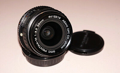 SMC Pentax-M 28 mm F/3.5 Lens for Pentax EXCELLENT CONDITION