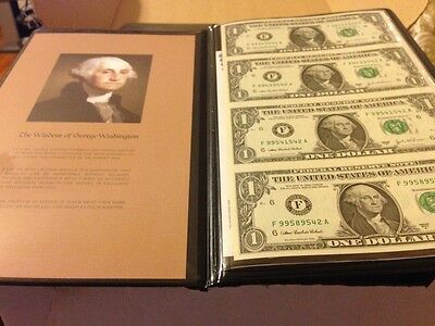 2003A $1 Dollar 4 Uncut UNCIRCULATED CURRENCY World Reserve Monetary Exchang