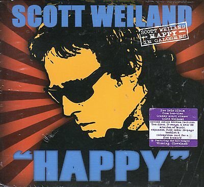 Scott Weiland Happy In Galoshes Deluxe Edition 2 CD Set Stone Temple Pilots NEW