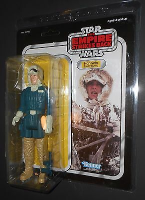 STAR WARS HAN SOLO (HOTH OUTFIT)JUMBO 12 INCH GENTLE GIANT KENNER SHIPS FREE