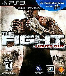 The Fight: Lights Out Sony Playstation 3 2010 PlayStation Move Required Used